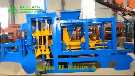 Bloqueio Automático6-15 Qt Pavimentadora de concreto máquina para fabricação de tijolos da Máquina