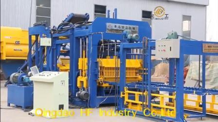 Qt15-15 de l'Allemagne pleine Automatique/bloc de béton de ciment machine à fabriquer des briques creuses de la construction