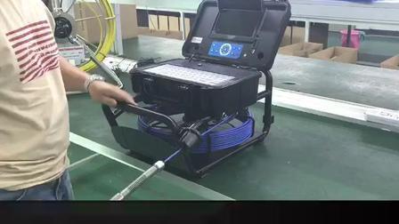 プールの下水道の下水管の512Hz送信機が付いているビデオ点検カメラ