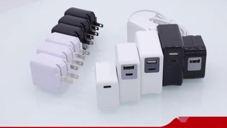 Typ C Ladegerät USB-Ladegerät Wand-/Akkuladegerät Reiseladegerät für Mobiltelefon