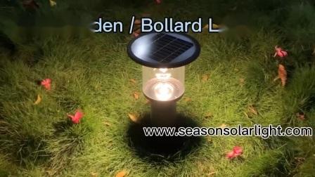 Luz de iluminação LED de alta tração estática de Jardim Piscina Luz Solar para iluminação de Jardim
