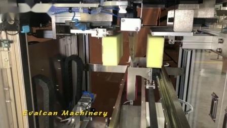 Vis à haute vitesse de tri et comptage automatique de la machine sur le fil machine d'emballage d'ongles