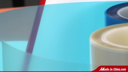 25-125mícron Película Pet Azul para fazer backup de fita