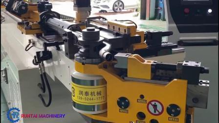 Herstellung verkauft Rt38CNC Kaufen 3 Achse 3D Rohrbieger CNC Nc Manuell Automatische Servo Metall Auspuff Ss Rolling Hydraulic Pipe Preis Biegemaschine