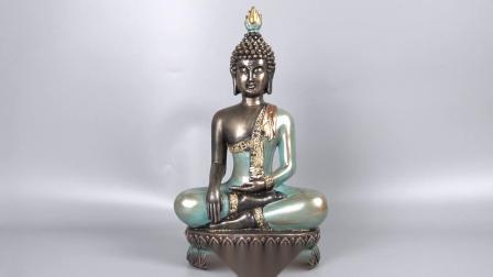 Hotsell Fengshui Tampo da resina Mini Meditação estátuas de Buda para Home