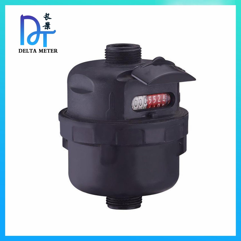 Misuratore di acqua classe C DN15-25 con corpo volumetrico in plastica a pistone R160 Con uscita a impulsi