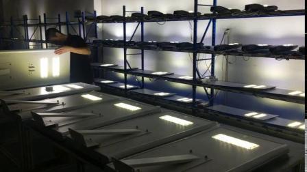 500W 300W 200W 파워 LED 벽 실외 방수 거리 램프 태양광과 카메라