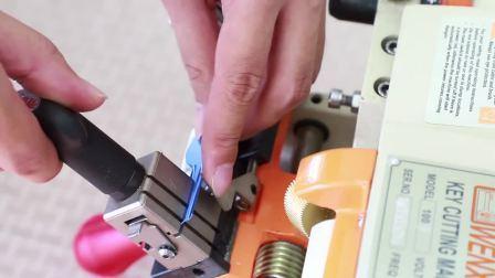 Wenxing Marken-ursprüngliche vertikale Schlüsselausschnitt-Maschine 180With90W für scherblock-Maschinen-Bauschlosser-Hilfsmittel des Schlüssel-110V und 220V kopieren