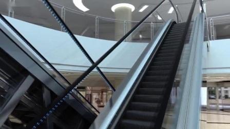 China Factory Rolltreppe AC Vvvf Auto Start / Stop Wohn Rolltreppe