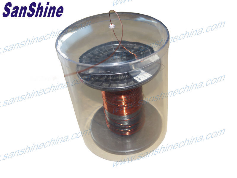 Kabelabdeckung mit Runddraht aus Kupfer (Rundspule)