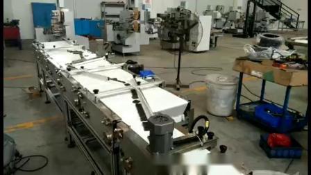 Chocolated double couche de repliage de la machine de conditionnement d'emballage d'enrubannage