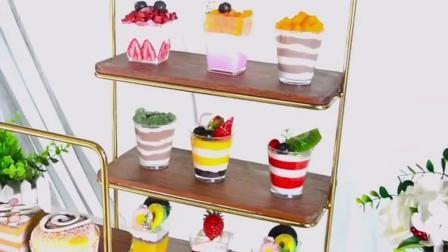 Sala de jantar decoração cozinha buffet Carvalho Madeira restos de comida Cupcake Contador de Exibição da Praça do recipiente de gabinete Buffet de madeira Risers de exibição e suportes de bolo