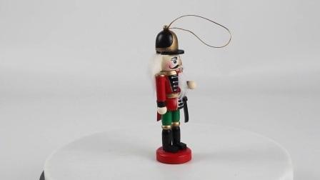 Venda por grosso Navidad Tampo interior personalizada de fábrica na China e travando Conjunto Nutcracker Natal de madeira