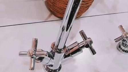 Colpetto d'ottone unico della cucina del commercio all'ingrosso doppio della maniglia