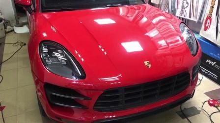 Nouveau produit Annhao 1,52 X 18m Crystal super voiture de métal brillant de couleur rouge de la flamme vinylique