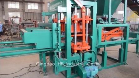 Matières premières et de briques de ciment Nouvelle condition Qt4-20 machine à fabriquer des blocs