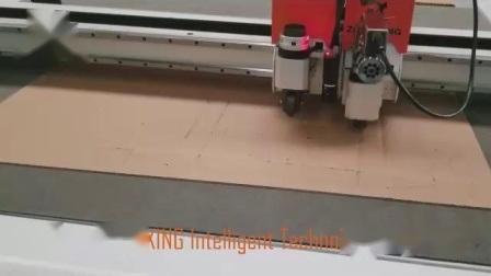 자동 다이 없는 골판지 절단 기계 판지 평판 테이블 디지털 커터 팩토리 판매 가격