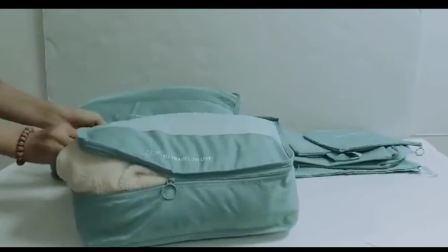Fördernder faltbarer Baby-Arbeitsweg-Bett-Handtaschen-Schlafenwindel-Unisexbeutel