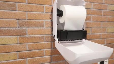 Encastré de papier toilette titulaire Support Mural Inoxydable Cover Roll Tissu Distributeur