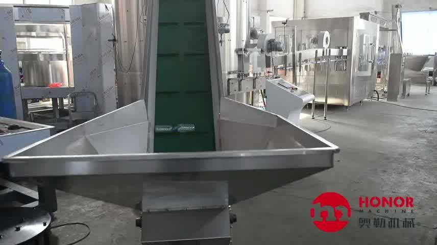 6000-12000bph Automatische Frühlingstrinken reines Wasser Saft kohlensäurehaltige Getränke/Saft Flüssigkeit/Glas/Dose Flasche Waschen Füllung Verschließen / Abfüllen Herstellung Verpackungsmaschine