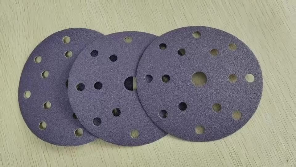 Фиолетовый шлифовальные диски для окончательной обработки для нанесения грунтовки и окрашенные поверхности