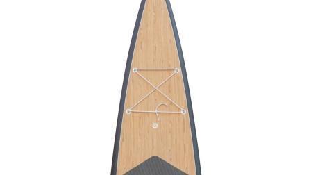 La nueva junta de la paleta de carreras Dropstitch wave runner 14 pies Sup Stand Up Paddle Board