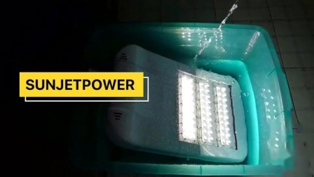 Projet du gouvernement 150W 160lm/W Rue lumière LED de gradation Rue lumière extérieure d'éclairage LED d'alimentation CA sans Jinko Ja panneau solaire