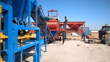Qt4-15 Hot Sale machine à fabriquer des briques de ciment de verrouillage