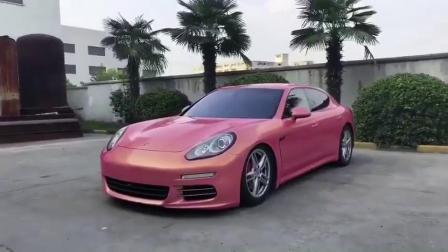 Magic Gold Car наматывается виниловая пленка фиолетового цвета с воздуховоды
