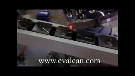 Chevilles en plastique automatique Rivet creux, fixation Machine d'emballage carton