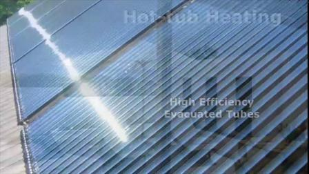 태양 Keymark, SRCC & As2712에 의하여 승인되는 철수된 관 태양열 수집기 (etc. 30)