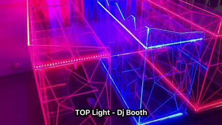 La Chine Facad LED Papillon cabine de DJ Décoration Location d'affichage