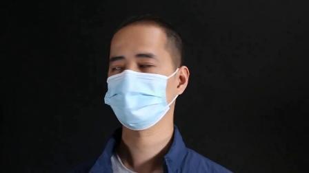 Hot Sell Goedkope prijs Gezichtsmasker 3-laags wegwerpmasker