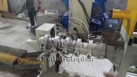 El maíz crudo de la extrusora de soja, la alimentación animal que hace la máquina