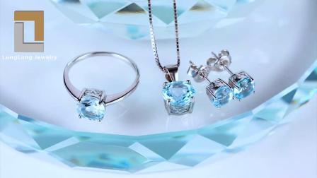 Schmucksache-Schneeflocke-hängende Halskette des Sterlingsilber-925 als Geschenk für Mädchen