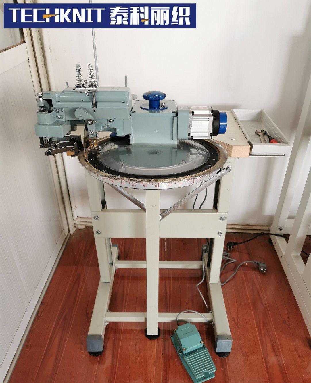 高速編むファブリックステッチ機械