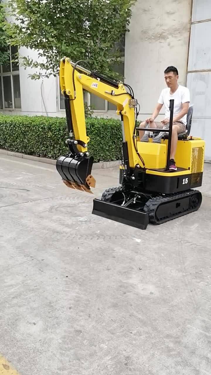 maquinaria de construcción mayorista 0.8t miniexcavadora Mini excavadoras