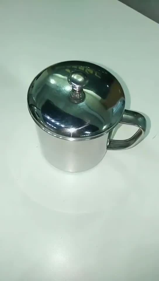New Design Milk Tea Water Beer Wine Coffee 250ml ステンレス製 スチールカップの家のギフト