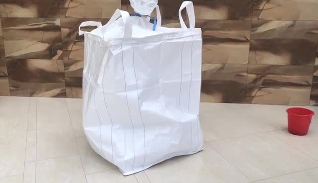2000kg Jambo Tassen FIBC Prijs te koop Bulk 1.2 ton Jumbo-tas met tuit