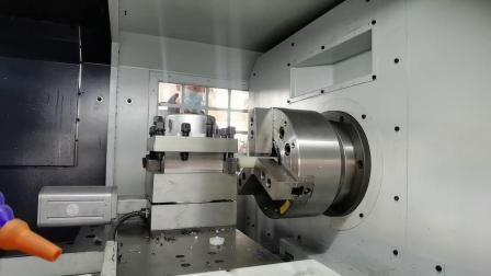 Ck6150 X1000mm máquina de torno CNC corte de metales (mandril hidráulico y Siemens 808d controlador).