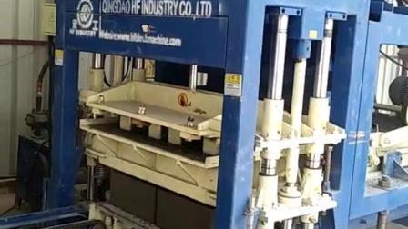 Siemens Plc automatique Machine machine à fabriquer des blocs de béton de blocs creux pour la vente