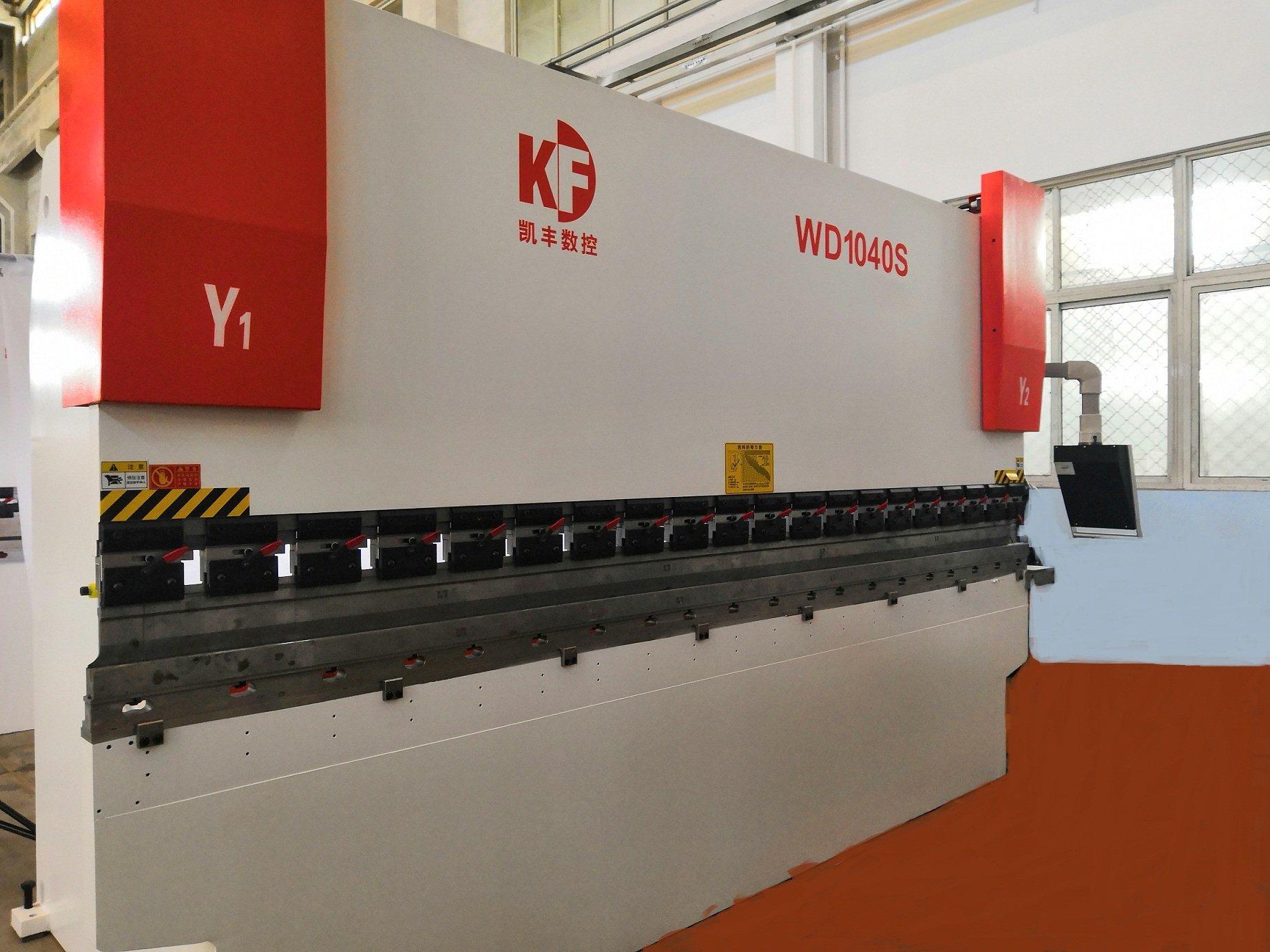 freno hidráulico de presión de CNC con herramientas