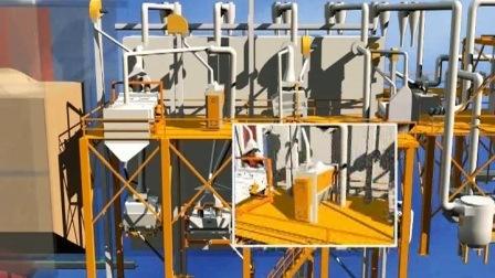 高品質小麦製粉機(日量30トン