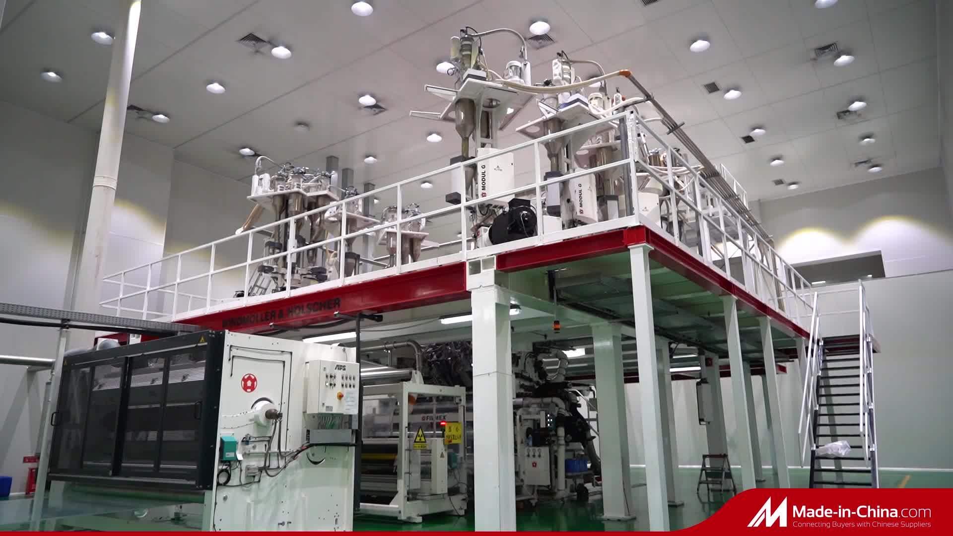 11 Multi strato Coestruso colata Nylon/PE confezionamento di plastica alimentare trasparente Pellicola termoformante