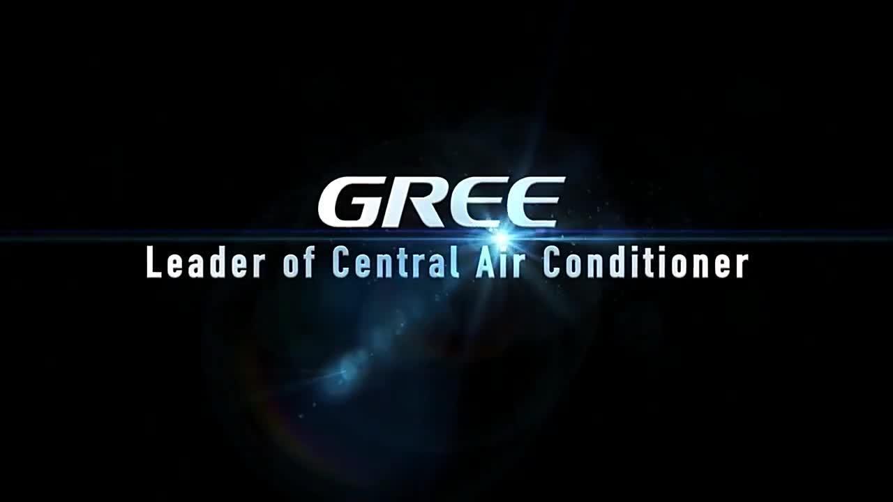 Gree G II-serie terminal ventilatorspoelunit centrale lucht Conditioner (50 Hz 3-rijen 30PA)
