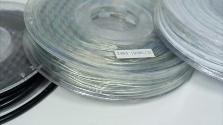 H05VV-F VDE la aprobación de 2 núcleos de el cable eléctrico cable flexible