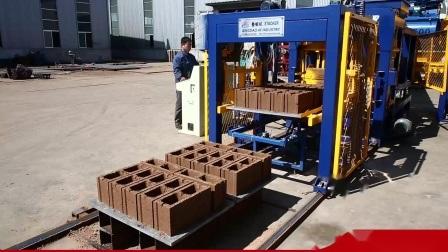 Qt6-15 Vibration hydraulique automatique de bloc de béton brique creuse de la machine machine à fabriquer des blocs Liste de prix de ligne de production