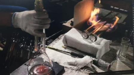 لعبة بيع ساخنة من ثروش كأس زجاجية مرقب تدخين الماء الأنبوب