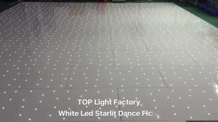 Décoration de mariage Sparkle étoilée feux à LED plancher de danse pour la location à Dubaï
