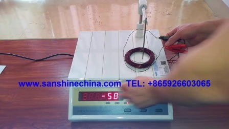 Prüfgerät für Drehungen des Drosselspulen-Detektors (SS108-10)